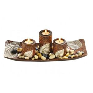 Dekoschalen und Kerzenhalter
