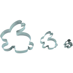 Neustanlo Formina Hase 3er Set Ostern /9,5 cm/ 5,5 cm/...