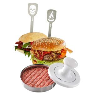 Gefu 00117 Hamburgerpresse Spark Limited Edition,...