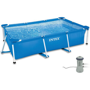 Intex 300x200x75 cm Frame Pool Set Family Filteranlage...
