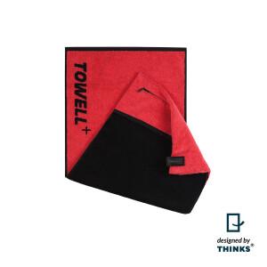 Stryve Towell + | Sporthandtuch mit Tasche und...