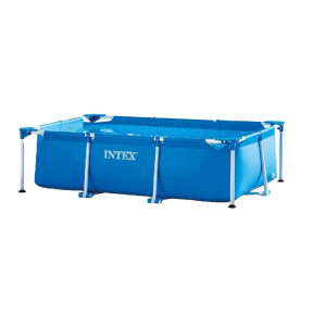 Intex Rectangular Frame Pool - Aufstellpool - 260 x 160 x...