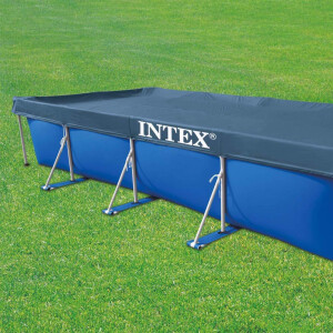 Intex Rectangular Pool Cover - Poolabdeckplane - 450 x...