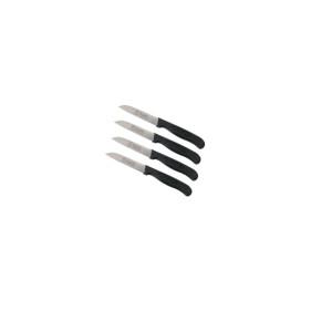 4 Stück Schälmesser Küchenmesser gerade...