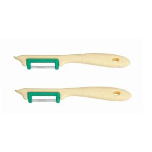2 Stück Neustanlo® Spargelschäler Solingen